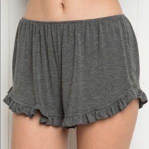 Brandy Melville dark gray shorts